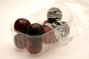 packaged plums
